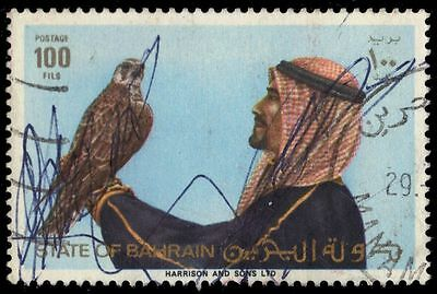 BAHRAIN 277b (Mi303) - Falconry Issue (pf64020)
