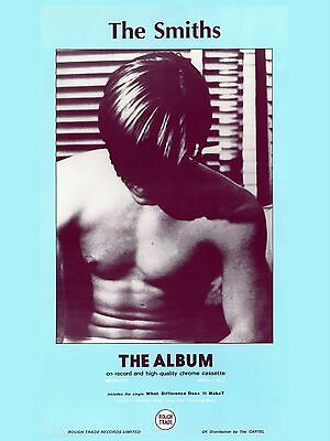 """The Smiths 1ST LP 16"""" x 12"""" Photo Repro Promo  Poster"""