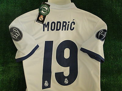 Real Madrid Home Champions League Shirt 2016-17 **luca Modric** Bnwt Size Small