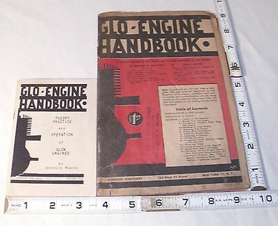 GAS TETHER CARS GLO ENGINES CAR HANDBOOK 1950s X2