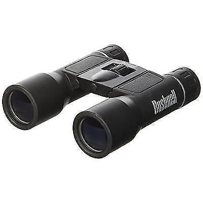 Bushnell Powerview 10x25mm Compact Folding Roof Prism Binocular (Black) New