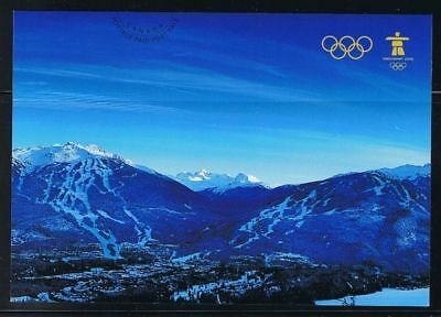 CANADA Post Cards MINT UX221 Vancouver Olympics Games qq
