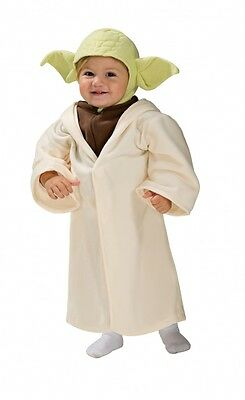BRAND NEW Licensed Star Wars CHILD YODA COSTUME Size TODDLER