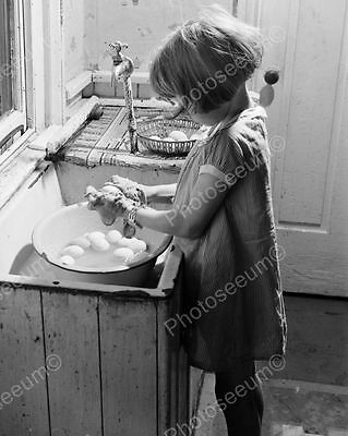 Egg Washer Classic 8 by 10 Reprint Photograph