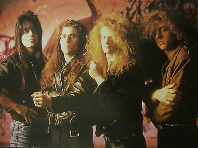 Celtic Frost, Full Page Vintage Pinup