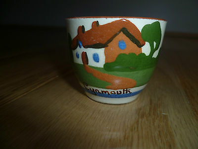 Dartmouth Torquay Egg Cup - Lynmouth New Laid             (Collectible) (1950's)