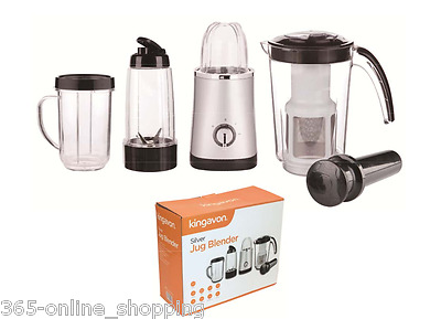 Large 4 in 1 Jug Blender Multifunctional Smoothie Maker Fruit Juicer Grinder