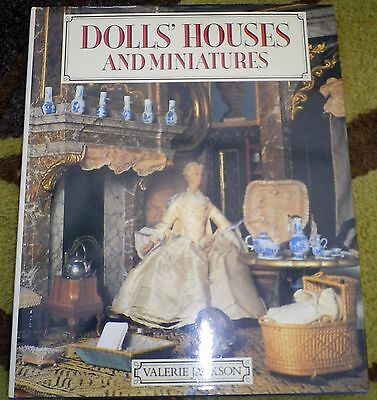 DOLLS' HOUSES AND MINIATURES : VALERIE JACKSON Hardback