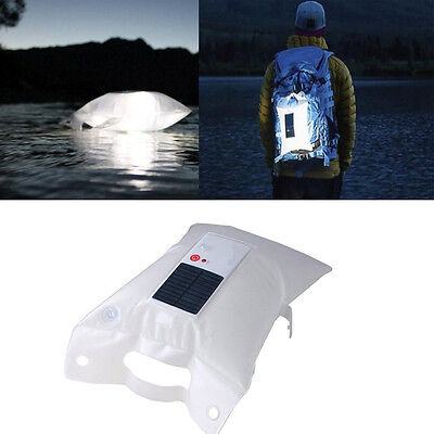Lámpara Solar Portátil LED Tienda Inflable Impermeable para Camping Hiking