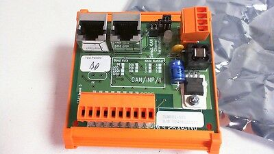 Baldor Relay Board ION001-501 - CAN 8 Input Node Expansion Module #7M242