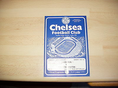 Chelsea Res v Portsmouth Res Football Combination 1961/2