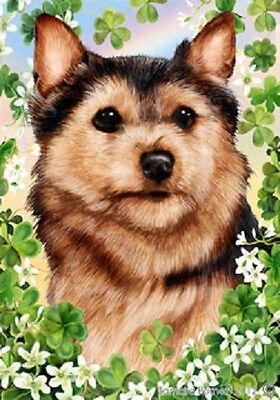 Garden Indoor/Outdoor St. Patrick's Flag - Norfolk Terrier 312251