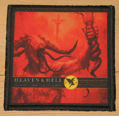 "HEAVEN AND HELL ""THE DEVIL YOU KNOW"" silk screen PATCH"