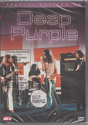 DEEP PURPLE- Special Edition EP DVD (NEW R0) Rare LIVE German TV Appearances ++