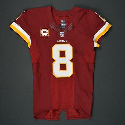 2016 Kirk Cousins Washington Redskins Game Used Worn Nike Football Jersey! NFL