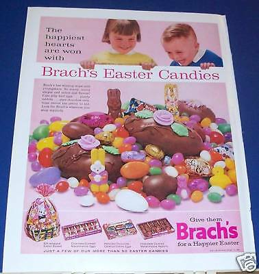 1963 Brach's Easter Candy Ad