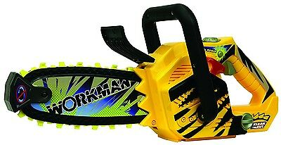 Workman™ Tool Play Sets. Realistic Sound Chainsaw New