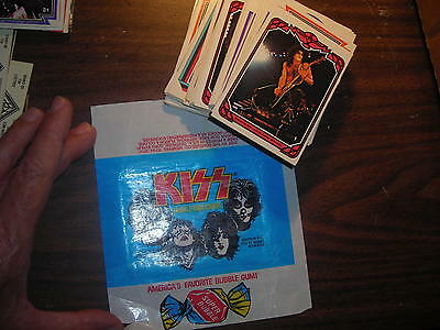 KISS Cards Complete Set 1978 Donruss Series 1 - 66 cards M-NM /Wrapper
