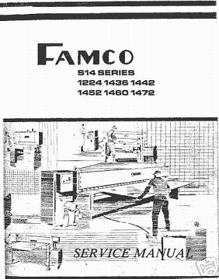 Famco S14 Series Shear Service Manual