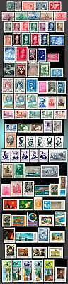 1867 - 1985  ARGENTINA SMALL LOT MAJORITY MINT hinged to little hinged