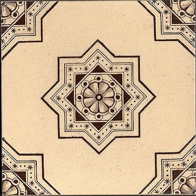 WTH Smith & Co Original Antique Sepia transfer tile reclaimed aesthetic style