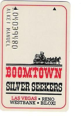 casino slot card - Boomtown Silver Seekers