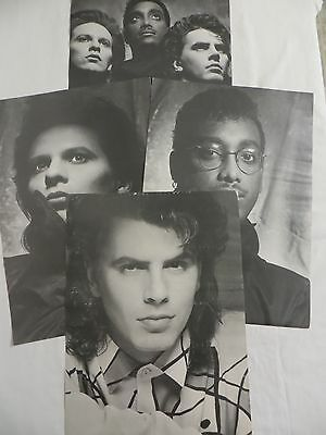 VINTAGE Power Station Band Posters of John Taylor Andy Taylor Tony Thompson