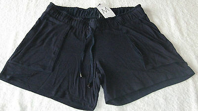 Next MATERNITY NAVY SHORTS *BNWT* Size 8 10 12 14 Summer Ladies Holiday Blue New