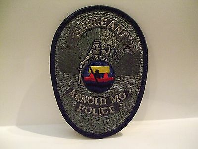 police patch  ARNOLD POLICE   MISSOURI  SERGEANT
