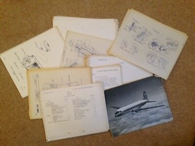 Aircraft Instructional Notes & Diagrams For The Avro 748