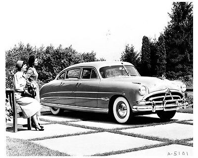 1951 Hudson Hornet ORIGINAL Factory Photo ouc0098