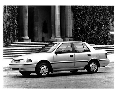 1994 Hyundai Excel 4-Door ORIGINAL Factory Photo ouc0023