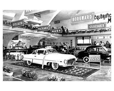 1953 1954 Hudson Italia ORIGINAL Factory Photo ouc0136