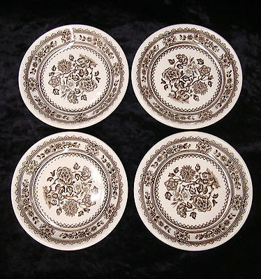 Vintage Woods & Sons Dorset Butter Pats Lot of 4 Dishes 4 1/2""