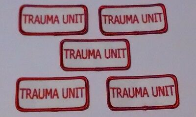Dealers Wholesale Lot Of 5 Trauma Unit Craft Patches