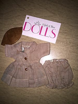 Vintage original tagged 3 pc Cosmopolitan Ginger Brownie outfit