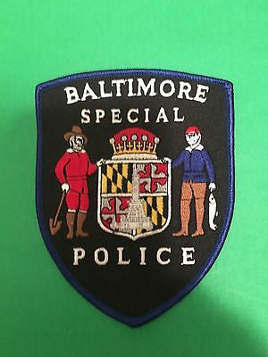 Baltimore Maryland Special Police Shoulder Patch