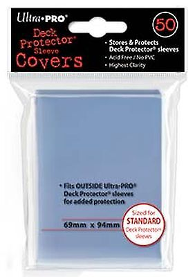 Ultra Pro Std Size Deck Protector Sleeve Covers 50 Per Packet. UP84080