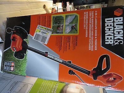 Black & Decker 2-In-1 Landscape Edger and Trencher LE750