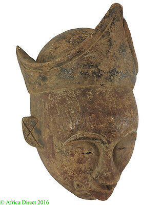 Ogoni Portrtait Mask with Crown Nigeria African Art