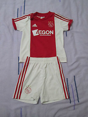 Ajax football kit 12-18 months