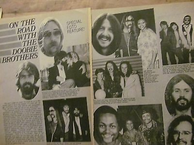 The Doobie Brothers, Two Page Vintage Clipping