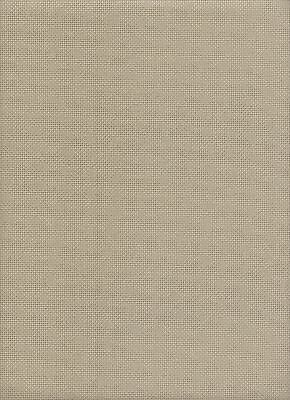 Zweigart 16 Count Light Taupe Cross Stitch Fabric Large Piece - 53x54cms singles