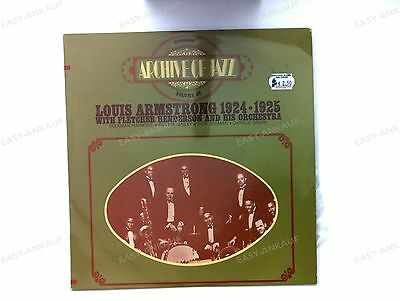 Louis Armstrong With Fletcher Henderson And His Orchestra - 1924-1925 FRA LP //1