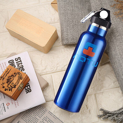 Thermos Acier Inoxydable 600mL Portable Isotherme pour Vacance Camping Voiture
