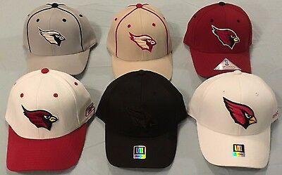 1cc7b984d Arizona Cardinals Select 1 Of 6 Flex Fit Fitted Vintage Throwback Nfl Cap  Reebok