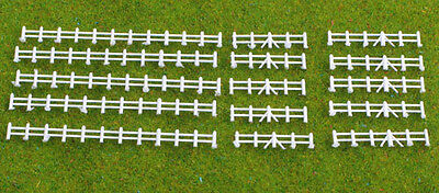 Kestrel Designs 'White Fencing' 'N' Gauge Plastic Model Kit - Model Railway