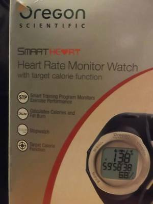 New Oregon Scientific Smart Heart Rate Monitor Watch