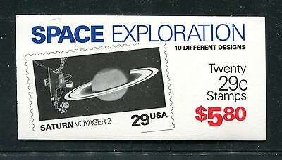 Bk 192, 1991 Space Exploration, $5.80 Complete Bklt (Id6043)