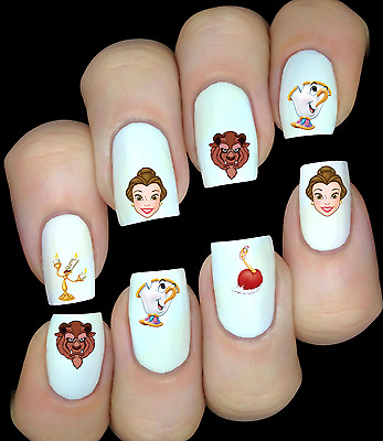 Disney Personnages Princesses  ongles manucure nail art water decal sticker